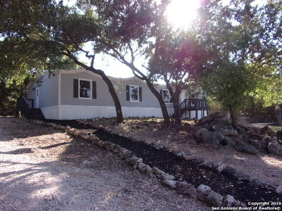 Bulverde, Spring Branch, Canyon Lake Manufactured Home For Sale: 2464 Cypress Gardens Blvd