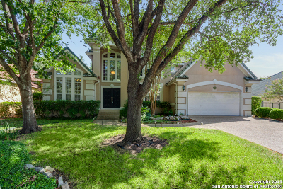 Stone Oak Single Family Home New: 1422 Twilight Ridge