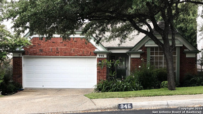 Stone Oak Single Family Home Active Option: 946 Amberstone Dr