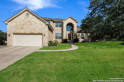 Helotes Single Family Home For Sale: 8619 Mantano Ridge