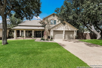 Stone Oak Single Family Home Active Option: 18039 Shady Knoll