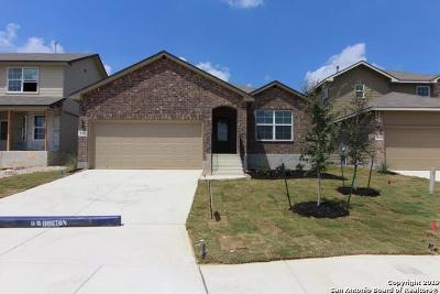 San Antonio Single Family Home New: 831 Red Crossbill
