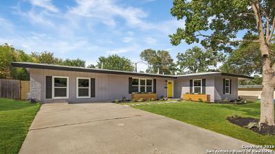 San Antonio Single Family Home New: 359 Rexford Dr