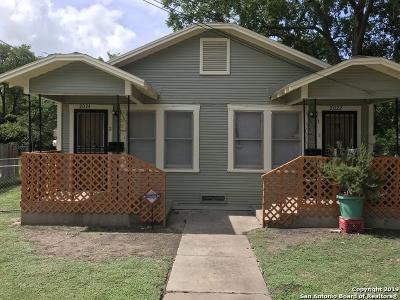 San Antonio Multi Family Home New: 2022 Hays St