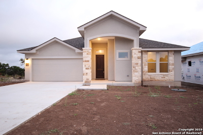 Boerne Single Family Home New: 81 W Mariposa