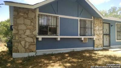 San Antonio Single Family Home New: 8531 Big Creek Dr