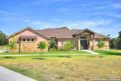 Blanco Single Family Home New: 123 Calvin Barrett