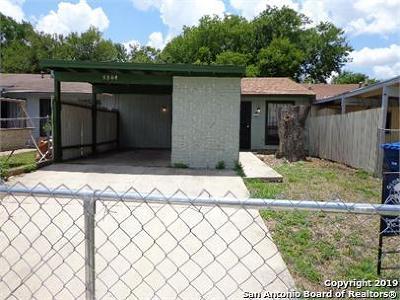 San Antonio Single Family Home New: 5504 Little Creek St