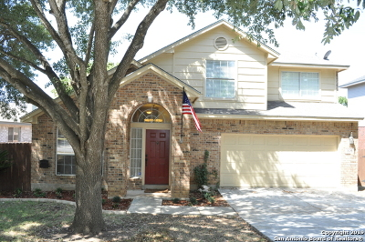Cibolo Single Family Home Active Option: 326 Notch Leaf