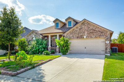 Schertz Single Family Home New: 845 Mesa Verde