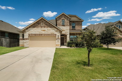 Boerne Single Family Home New: 9811 Catell