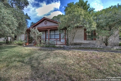 Boerne Single Family Home New: 108 Deer Trail