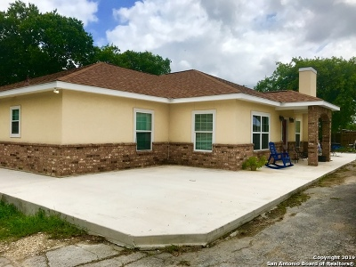 San Antonio Single Family Home New: 6143 Fm78