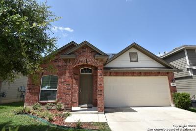 San Antonio Single Family Home New: 148 Golden Wren