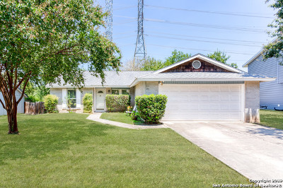 San Antonio Single Family Home New: 4711 Crested Grove