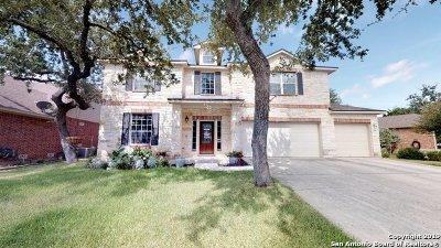 San Antonio Single Family Home Price Change: 26007 Indian Cliff