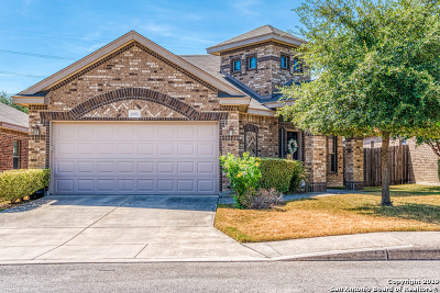Helotes Single Family Home Active Option: 10411 Weser Ln