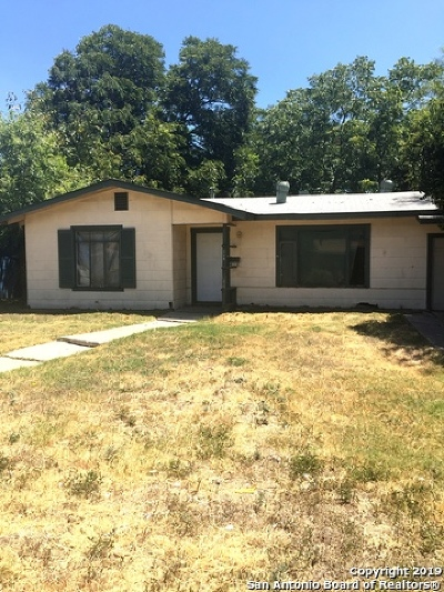 San Antonio Single Family Home New: 118 Kinder Dr