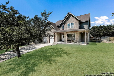 Bulverde, Spring Branch, Canyon Lake Single Family Home New: 1161 Parton Rd