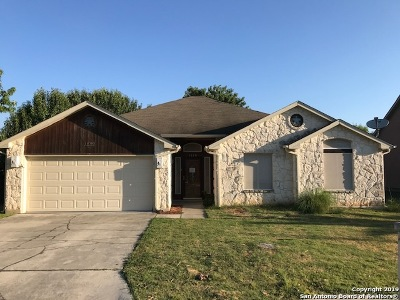 New Braunfels Single Family Home Price Change: 1228 Luckenbach Dr
