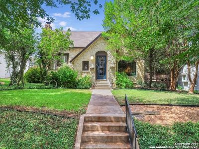 San Antonio Single Family Home New: 305 Wildrose Ave