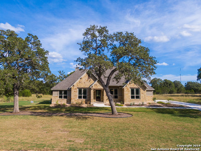 New Braunfels Single Family Home New: 479 Curvatura