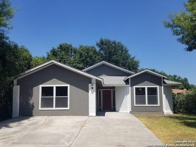 San Antonio Single Family Home New: 10003 Sugarloaf Dr