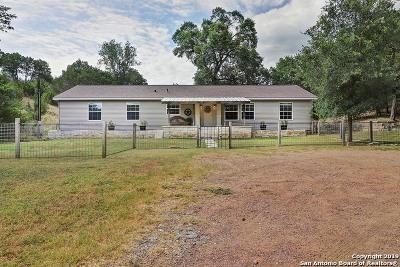 Kerrville Single Family Home Active Option: 1750 Ranchero Rd