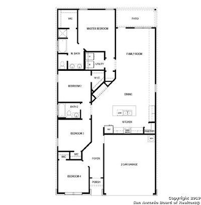 San Antonio Single Family Home New: 823 Red Crossbill