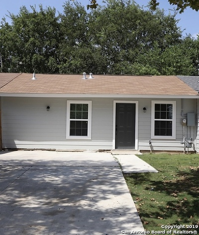 San Antonio Single Family Home New: 5427 Little Creek St