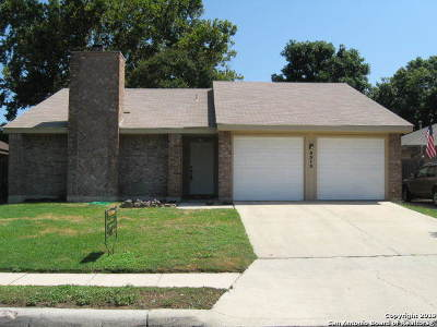 San Antonio Single Family Home New: 9515 Woodland Hills