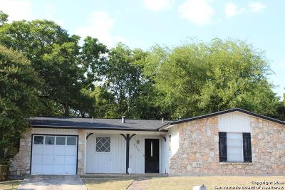 San Antonio Single Family Home Active Option: 5375 Costa Mesa St