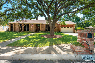 Bexar County Single Family Home New: 13734 Hunters Moss St