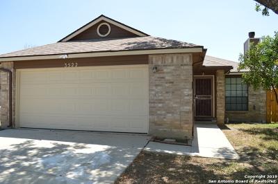 San Antonio Single Family Home New: 3522 Lake Sunset Ct