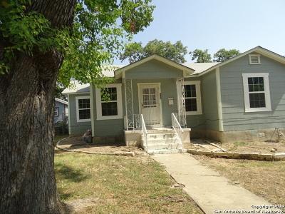 San Antonio Single Family Home New: 125 Leming