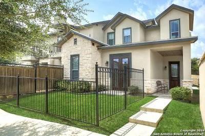 Shavano Park Villas Single Family Home New: 4181 Texas Elm #4181