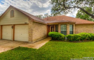 San Antonio Single Family Home New: 7447 Silent Sunset