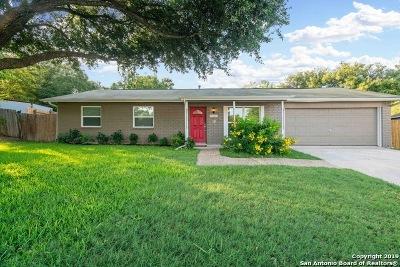 San Antonio Single Family Home New: 5602 Charwood Dr