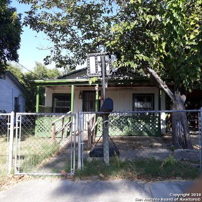 San Antonio Single Family Home New: 2258 SW 19th St