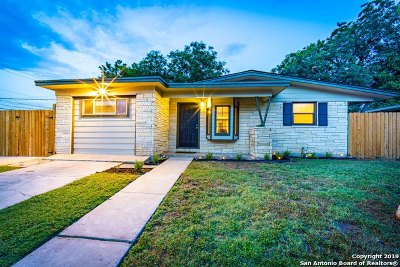 San Antonio Single Family Home New: 1018 Elkhorn Dr