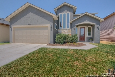Converse Single Family Home New: 3943 Key West Way