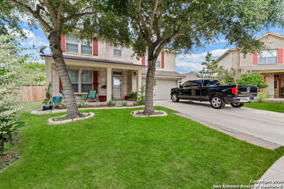 Cibolo, Schertz, New Braunfels Single Family Home New: 204 Frontier Cove