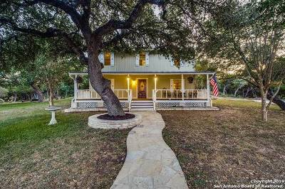 Boerne Single Family Home New: 119b Mountaintop Trail
