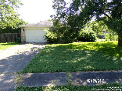 San Antonio Single Family Home New: 13818 Durwood