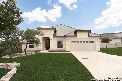 Boerne Single Family Home New: 17 Canario