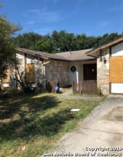 San Antonio Single Family Home Active Option: 8635 Bristlecone St