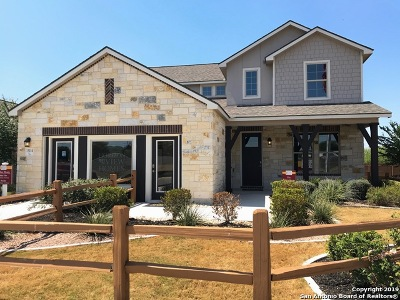 Alamo Ranch Single Family Home New: 15114 Galaxy Point