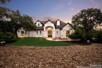 Bulverde, Spring Branch, Canyon Lake Single Family Home New: 626 Long Ridge