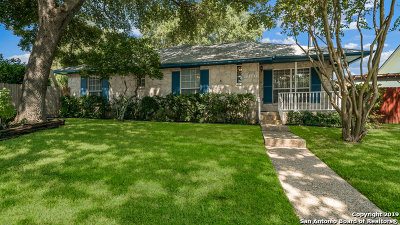 San Antonio Single Family Home New: 13307 Marceline