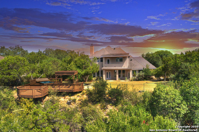 Boerne Single Family Home New: 114 Canyon Circle